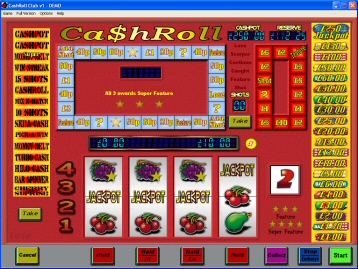 CashRoll Club Fruit Machine